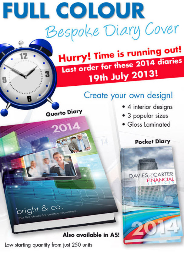 Bristol Business Forms 2014 Bespoke Diary